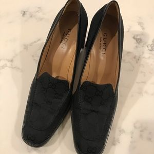 Authentic Gucci Heeled Loafers